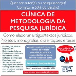 Clinica de metodologia - banner oficial